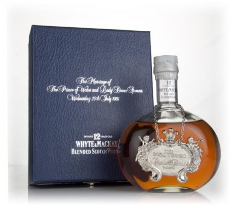 Whyte & Mackay 12 Year Old - Royal Wedding Edition - 1981 Blended Whisky