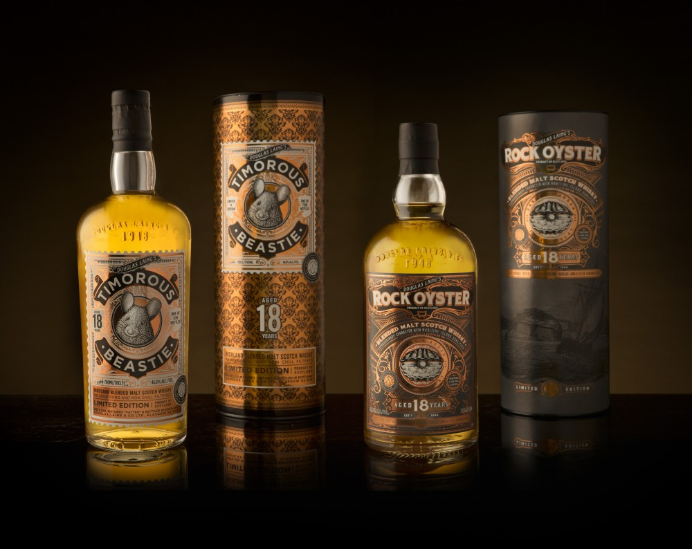Rock Oyster & Timorous Beastie come of age with new 18 year old limited editions