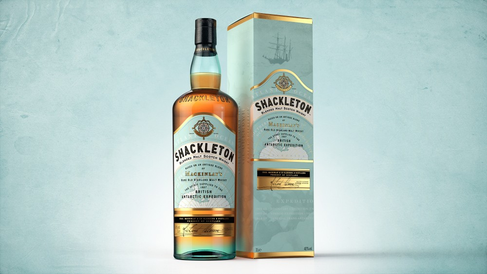 Launch of new Shackleton Blended Malt draws attention to plight of Antarctica
