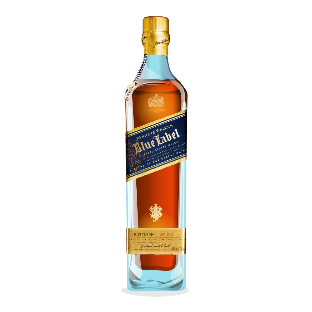 johnnie walker blue label reviews whisky connosr. Black Bedroom Furniture Sets. Home Design Ideas