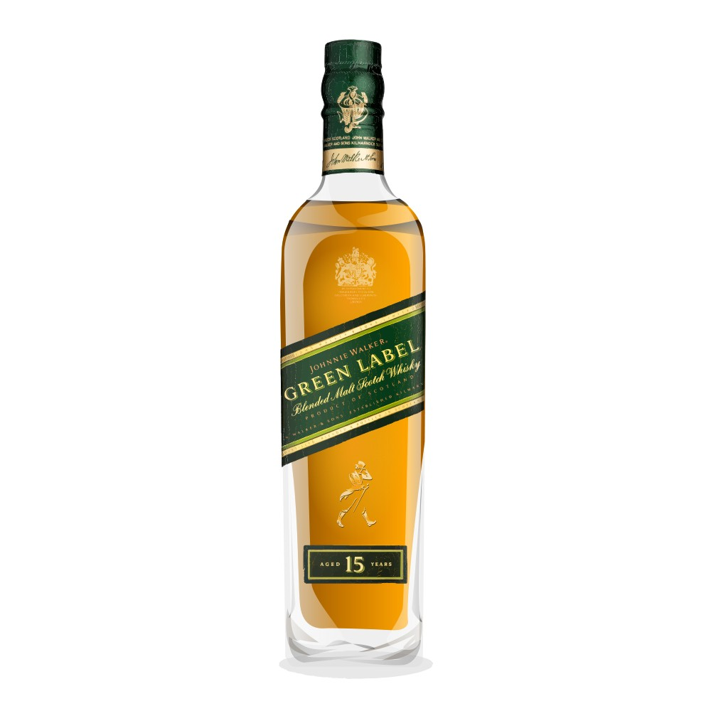 2029a2f9ba Johnnie Walker Green Label 15 Year Old Reviews - Whisky Connosr