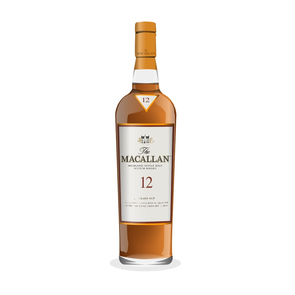 Whisky Review: The Macallan Sherry Oak (12 Year) « The Rum ...