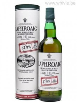 Laphroaig 10 Year Old Cask Strength Batch 001