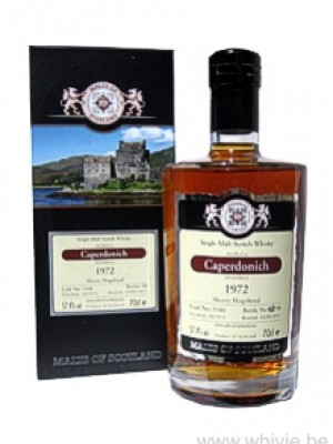 Caperdonich 38 Year Old 1972/2011 Sherry Hogshead 1145