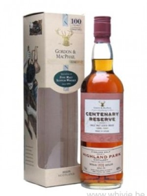 Highland Park 1970/1995 GM Centenary Reserve