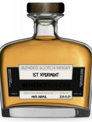 WhiskyBlender Mark Dermul's 1st Xperiment