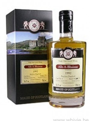 Allt-A-Bhainne 18 Year Old 1992/2011 Malts of Scotland
