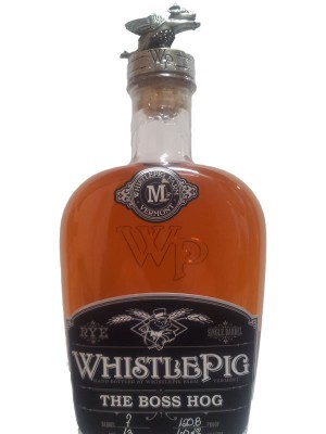 WhistlePig The Boss Hog 13 YO RYE 123.2 pf Barrel #20 'Spirit of Mortimer' 2014
