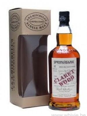 Springbank 12 Year Old Claret Wood