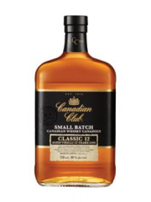 Canadian Club Small Batch Classic 12 Lot C12-058