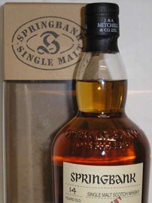 Springbank 14 Year Old Port Wood