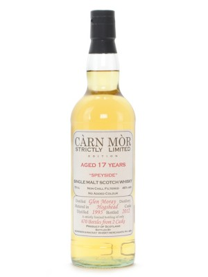 Glen Moray 17 Year Carn Mor Strictly Limited
