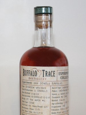 Buffalo Trace Experimental Collection 1997 Double Barreled