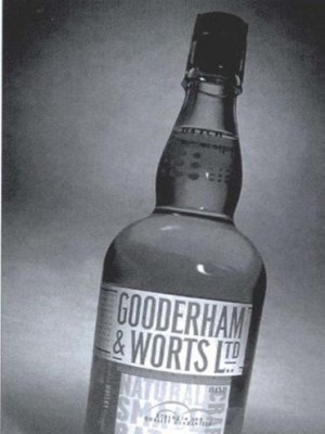 Gooderham & Worts Natural Small Batch 1998 Release 45% abv