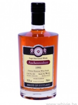Auchentoshan 1991 Montrose Wine Finish Malts of Scotland