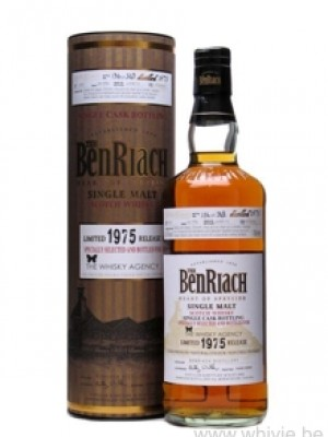 BenRiach 34 Year Old 1975 for The Whisky Agency