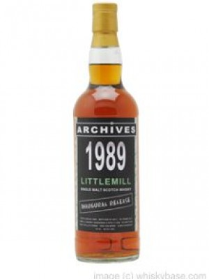 Littlemill 22 Year Old 1989/2011 Archives 'Inaugural Release'