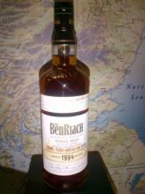 BenRiach 1994 KWM Cask 3806 18 Year Old