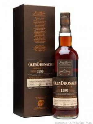 GlenDronach 20 Year Old 1990 PX Sherry Puncheon 1032