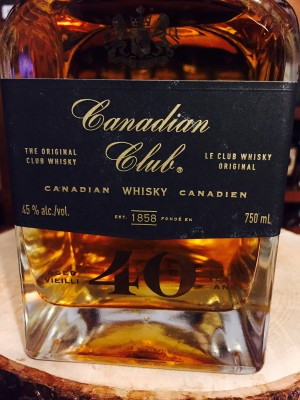 Canadian Club 40 Year Old 45% abv