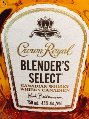 Crown Royal Blender's Select 45% abv 750 ml