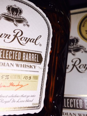 Crown Royal Hand Selected Barrel 'Coffey Rye' 103 pf Total Wine New Mexico