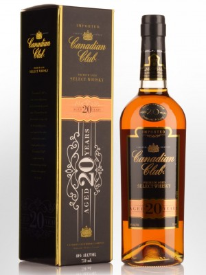 Canadian Club 20 Year Old Bottled for Australia in Frankfort, Clermont, KY 2014 L4251