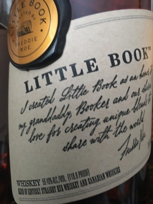 Jim Beam LITTLE BOOK CHAPTER 02 2018 Blend of 8 YO Kentucky Straight Rye, 40 YO Canadian Whisky, and 13 YO Canadian Rye 59.4% abv