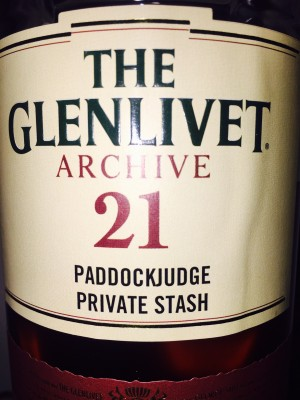Glenlivet 21 Year Old Archive 0714M 43% abv.