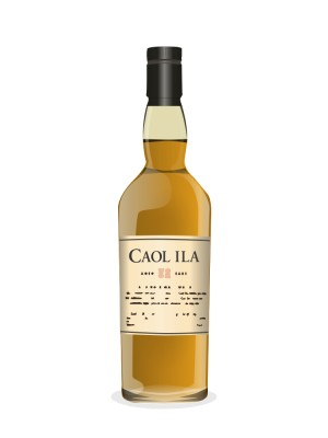 Caol Ila 1990 15 year old The Ultimate Single Malt Scotch Whisky Selection Cask # 05/899 (refill butt)