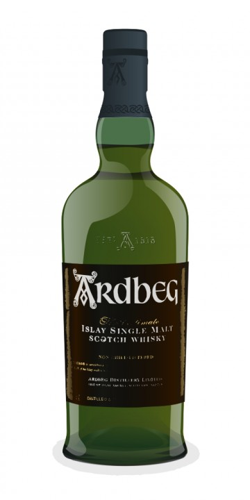 Ardbeg 1975 Map Label