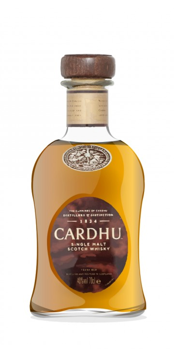 Cardhu 12 Year Old bottled 1980s