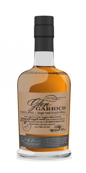Glen Garioch 10 Year Old bottled 1980s