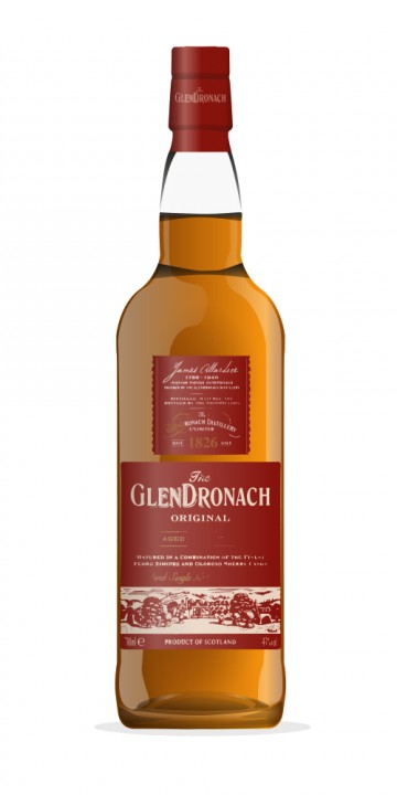 Glendronach 1968 Reopening of Distillery 2002