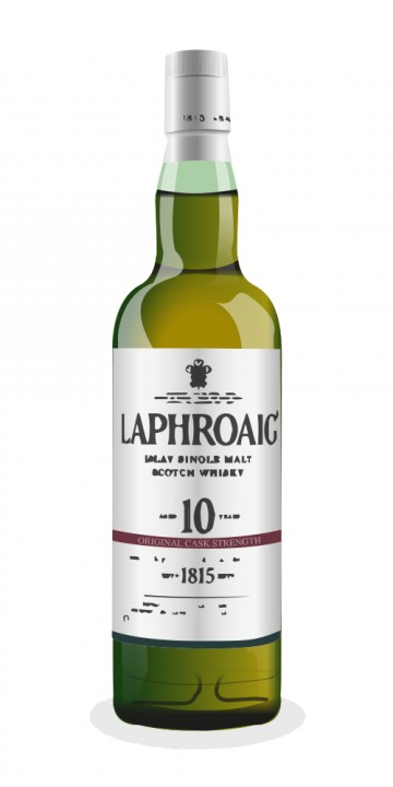 Laphroaig Cask Strength 10 Year Old
