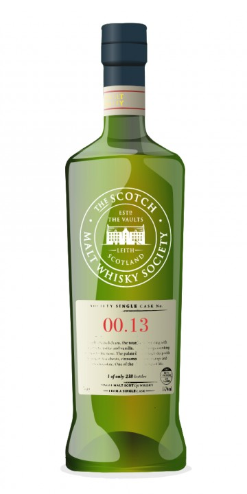 SMWS 3.163 - Mysterious masked man visits Islay