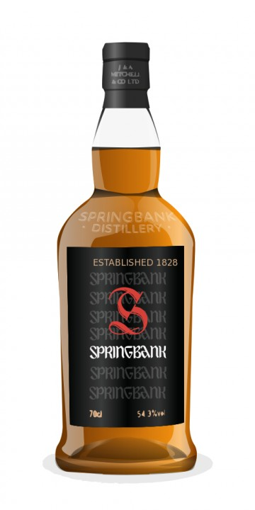 Springbank 1970 34 Year Old Sherry Cask