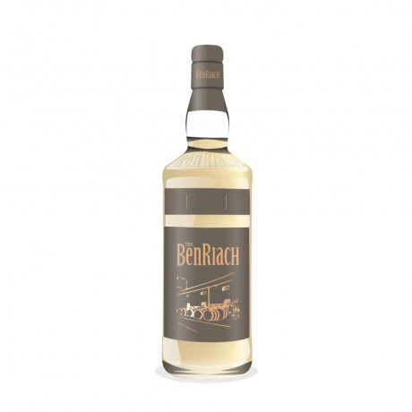 BenRiach 12 Year Old 2005 (cask 2679) – Batch 14 (peated 1st fill Port Pipe)