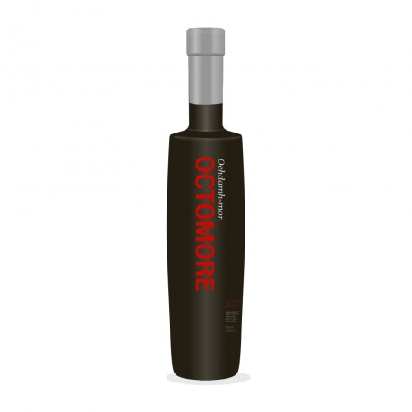 Bruichladdich Octomore 8.1 (Scottish Barley Masterclass),  8 yo