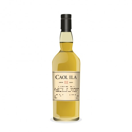 Caol ila 15 Year Old 22ct Gold Ceramic Jug