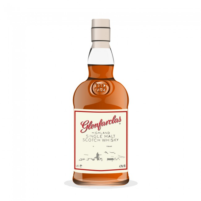 Glenfarclas 12 Years Old (Personally Selected for The Lorne Scots)