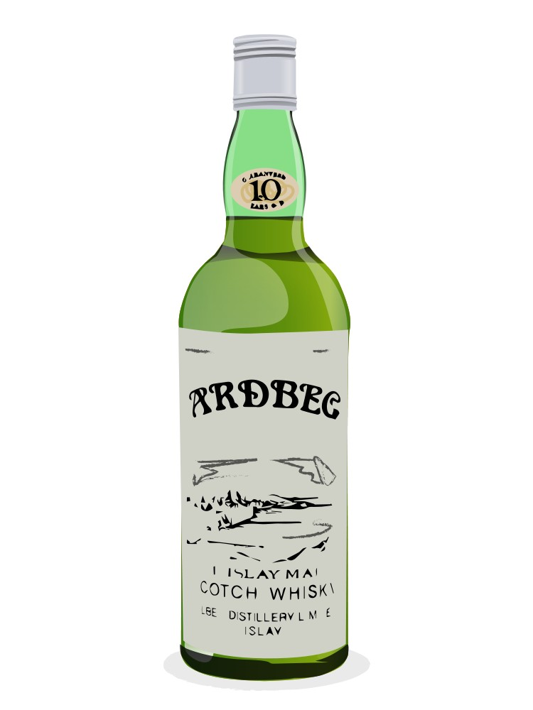 Ardbeg 10 Year Old bottled 1960s