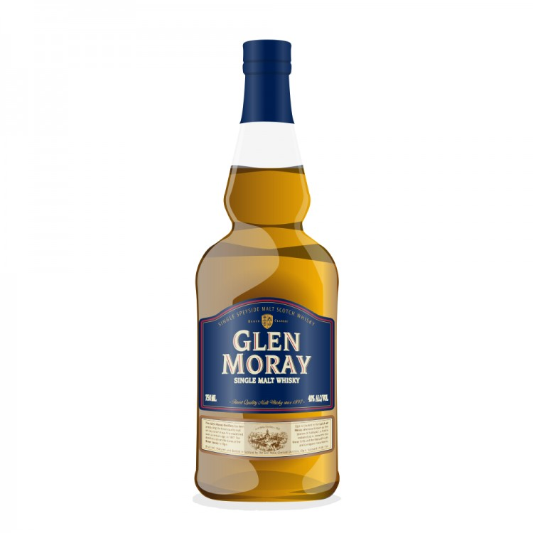 Glen Moray 20 Year Old 1995 A.D. Rattray