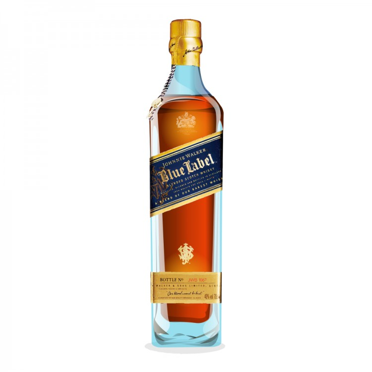 This is a photo of Current Johnnie Walker Blue Label Case