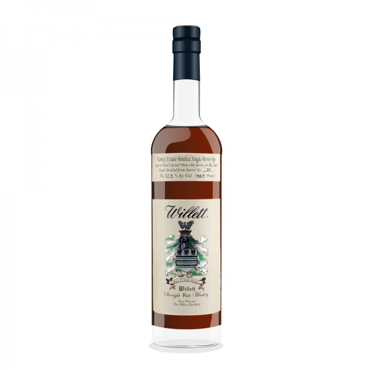 b68f9982764 Review of Willett Family Estate Straight Rye Whiskey 4 Year old by ...